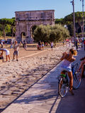 Tourism in Rome concept Stock Photo