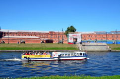 Tourism in Saint-Petersburg, Russia Royalty Free Stock Image
