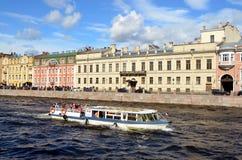 Tourism in Saint-Petersburg, Russia Stock Image