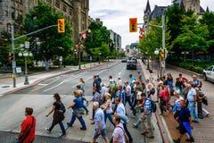 Tourism season, Ottawa, Canada royalty free stock photos