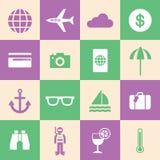 Tourism symbol Royalty Free Stock Photo