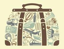 Tourism symbol. Vector illustration Royalty Free Stock Photos