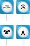 Tourism symbols 3 Stock Image