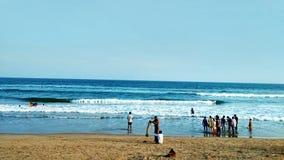 Gopalpur, sea beach, Odisha, India. Tourism, tourist, spot, sea shore Royalty Free Stock Photos