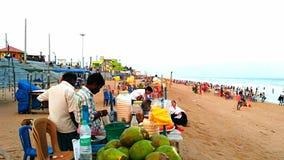 Gopalpur, sea beach, Odisha, India. Tourism, tourist, spot, sea shore Royalty Free Stock Image