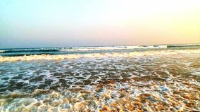 Gopalpur, sea beach, Odisha, India. Tourism, tourist, spot, sea shore Royalty Free Stock Images