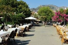 Tourism Town Göcek Stock Photo