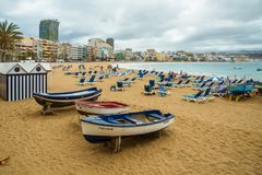 Tourism and travel. Canary Islands stock image