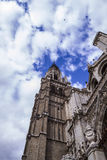 Tourism and travel.Cathedral of Toledo Royalty Free Stock Image