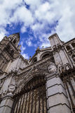 Tourism and travel.Cathedral of Toledo Stock Image