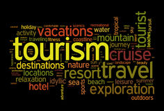 Tourism and travel concept stock illustration