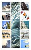 Tourism and travel Royalty Free Stock Images