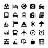 Tourism and Travel Vector Icons 1 Stock Photos
