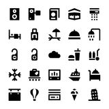 Tourism and Travel Vector Icons 2 Stock Photo