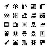 Tourism and Travel Vector Icons 8 Royalty Free Stock Photography
