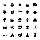 Tourism and Travel Vector Icons 1 Royalty Free Stock Photography