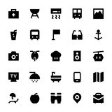 Tourism and Travel Vector Icons 3 Stock Photos