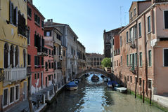 Tourism in Venice Royalty Free Stock Photos