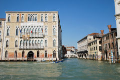 Tourism in Venice Royalty Free Stock Photo