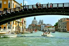 Tourism in Venice , Italy Royalty Free Stock Photography