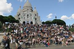 Tourisme à Paris Image libre de droits