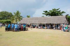 Tourisme d'île de Dravuni Images stock