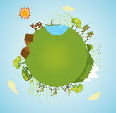 Tourisme d'Eco Photographie stock