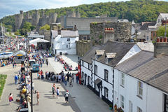 Tourisme de Conwy Photos stock