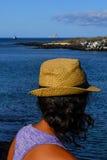 Tourisme de Galapagos Photographie stock