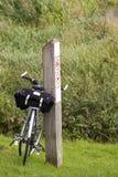 Tourisme de la bicyclette Image libre de droits