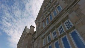 Tourisme de la façade du nord de Magdalena Palace 08 banque de vidéos