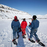 tourisme de svalbard Images stock