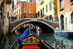 Tourisme de Venise, Italie Photo libre de droits