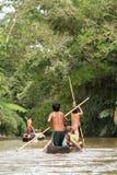 Tourisme en Amazonie Image libre de droits