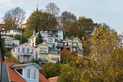 Tourisme Hambourg de Blankenese Photographie stock libre de droits