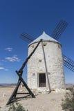 Tourisme, moulins à vent de Consuegra à Toledo, Espagne Ils ont servi à Photographie stock