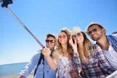 tourisme, voyage, les gens, loisirs et concept de technologie Photo libre de droits