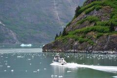 Tourismus in Alaska Stockbilder