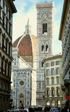 Tourismus in Florenz, Italien Lizenzfreies Stockfoto