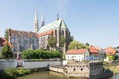 Tourismus in Goerlitz Lizenzfreies Stockfoto