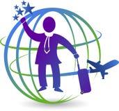 Tourismus-Logo Stockfotografie