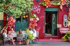 Tourismus in Madrid Lizenzfreies Stockbild