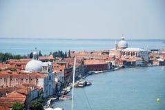 Tourismus in Venedig Stockbild