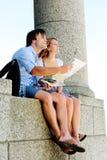 Tourismuskarte Lizenzfreie Stockbilder