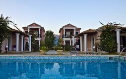 Tourist Accommodation - Vasiliki, Lefkada Stock Photos