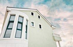 Tourist accomodation apartment house holdays royalty free stock photo