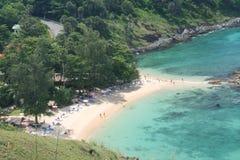Tourist Activity on Tropical Phuket island Beach Royalty Free Stock Image