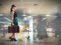 Tourist airport Royalty Free Stock Photos