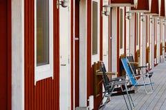 Tourist apartments Stock Photo