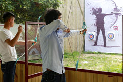 Tourist archery Royalty Free Stock Photo